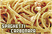 Spaghetti Carbonara: