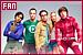 Big Bang Theory, The: Cooper, Sheldon, Leonard Hofstadter, Rajesh 'Raj' Koothrappali, Penny, and Howard Wolowitz: